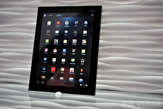 vizio m-series tablet