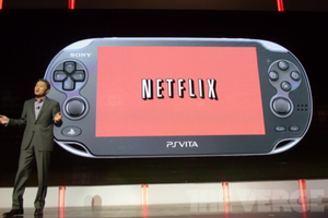 Netflix on the PlayStation Vita