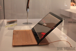 Gallery Photo: Sony VAIO tablet with sliding keyboard prototype