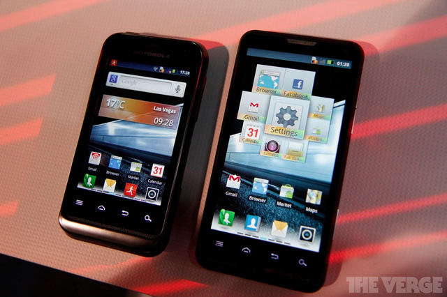Motorola Defy Mini and Motoluxe