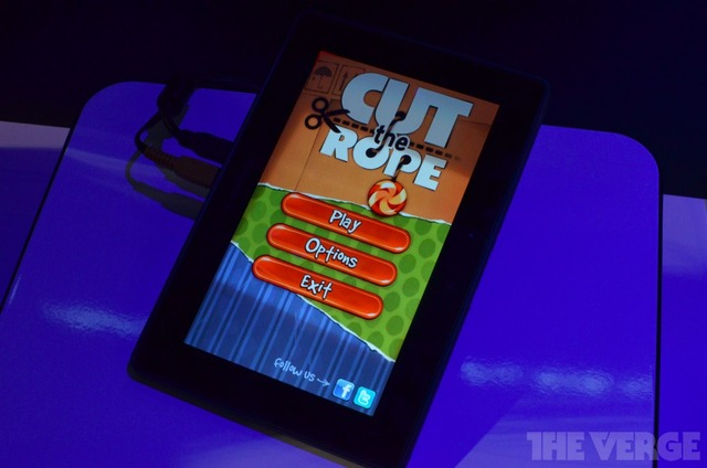 BlackBerry PlayBook Cut The Rope