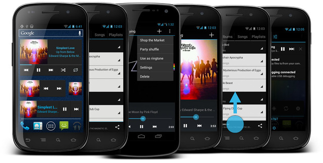 Cyanogenmod 9 music
