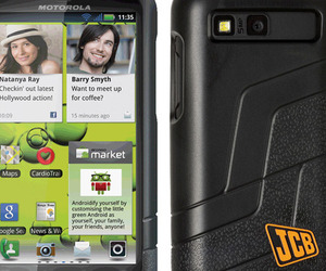 Motorola Defy+ JCB Edition
