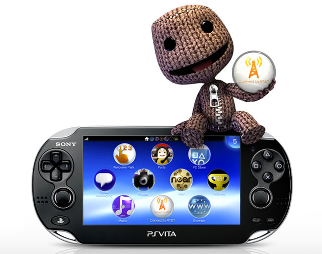 PlayStation Vita 3G AT&amp;T sackboy