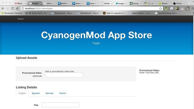 cyanogenmod app store