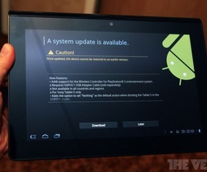 Sony Tablet S update 1020