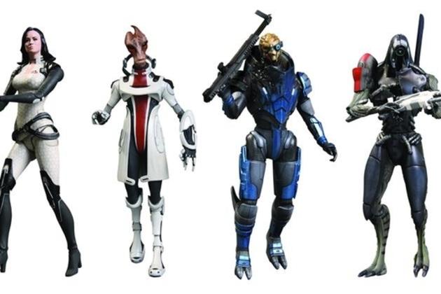 Mass Effect 3 action figures