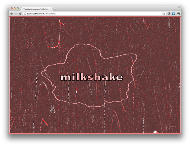 MilkShake Music Visualizer