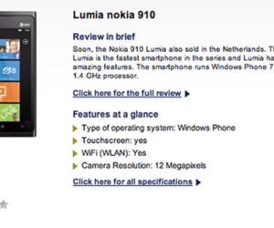 Nokia Lumia 910 Typhone
