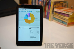 Gallery Photo: Mint finances app for Android tablets (hands-on photos)