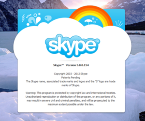 Skype For Windows 5.8