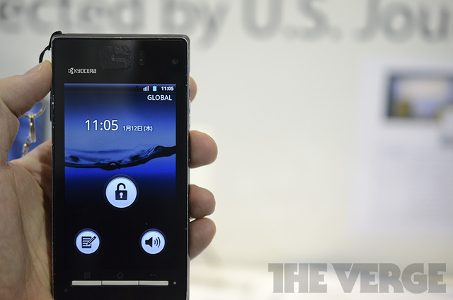 Gallery Photo: Kyocera prototype Speaker-less Smartphone