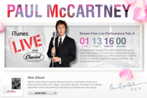 Paul McCartney iTunes