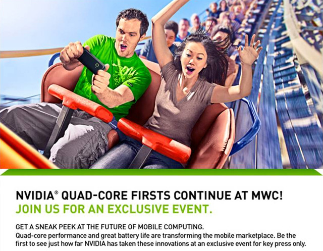 Nvidia mobile world congress