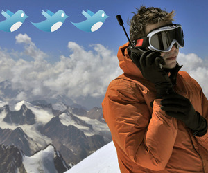Shutterstock Twitter Satellite phone