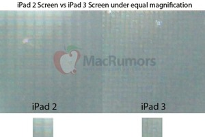 MacRumors iPad 2 screen comparison