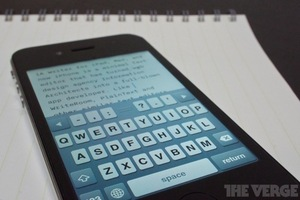 EMBARGO ia writer iphone