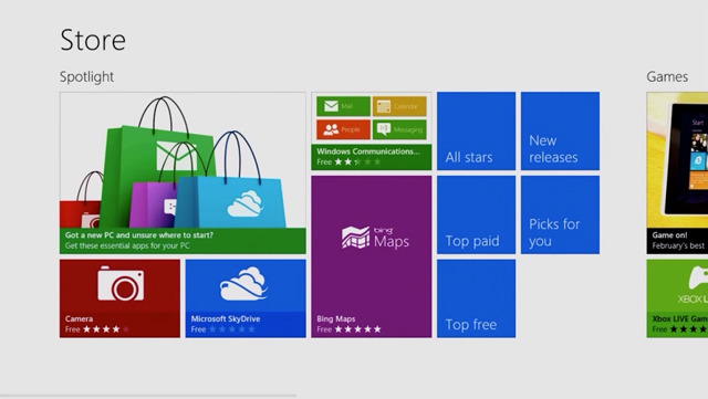 Windows Store Consumer Preview