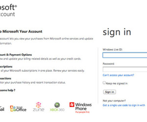 Microsoft Your Account