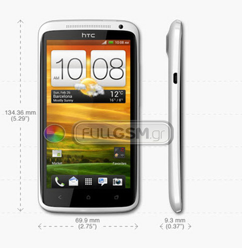 HTC One X Leaked Image FullGSM