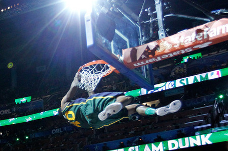 All-Star 2012 DUNK CONTEST Results: Jeremy Evans wins! - SLC Dunk
