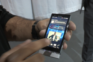 Xperia P hands on