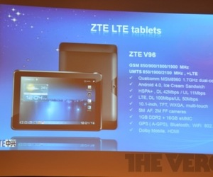 Gallery Photo: ZTE Tablets at Mobile World Congress