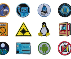 Adafruit badges