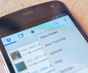Dropbox Android Holo Theme