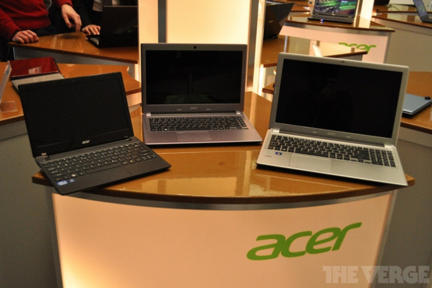 Gallery Photo: Acer V3 and V5 series laptops hands-on images