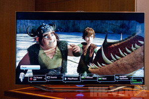 Gallery Photo: Samsung ES800 LED and E8000 plasma hands-on pictures