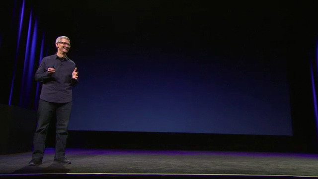 2012 iPad event video screencapture