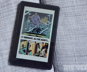 Kindle Fire Graphic Novel Watchmen