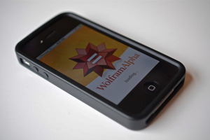 wolfram alpha iphone