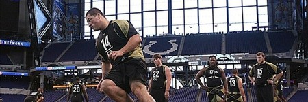 The Combine reshuffled the top five prospect rankings.
