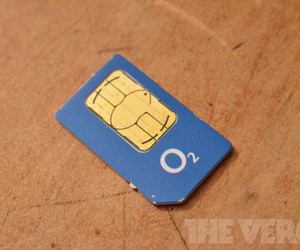 O2 Germany SIM card logo (1020)