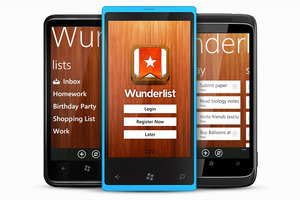 Wunderlist for Windows Phone