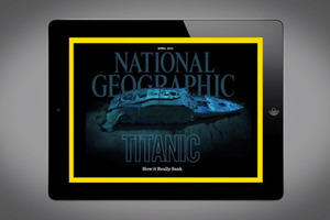 National Geographic Titanic issue for iPad