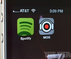 Mog Spotify iOS app icons