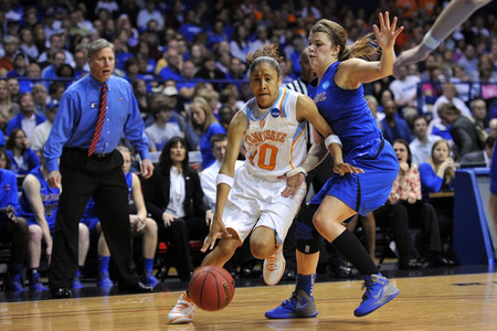 When Meighan Simmons is on her game, the Tennessee Lady Vols are really hard to beat. Unfortunately, she's just been just as inconsistent as the team as a whole this season. Rob Grabowski-US PRESSWIRE