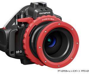 olympus om-d underwater housing