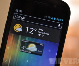 google nexus weather widgets