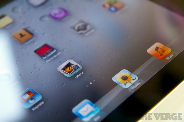 iPhoto for iOS icon on iPad