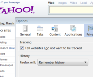 Yahoo Do Not Track