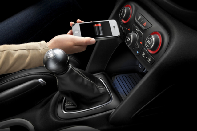 Dodge Dart wireless charger