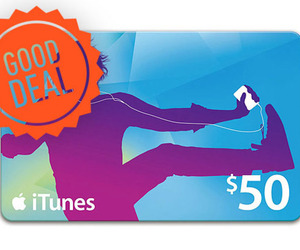 iTunes Gift Card Good deal