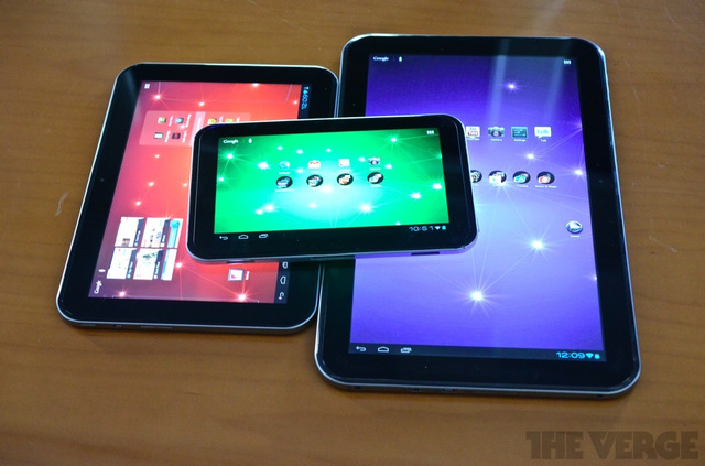 Toshiba Excite lineup