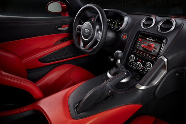 2013 Dodge Viper dash
