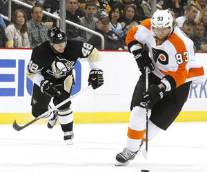 FLYERS rally to win Game One in overtime