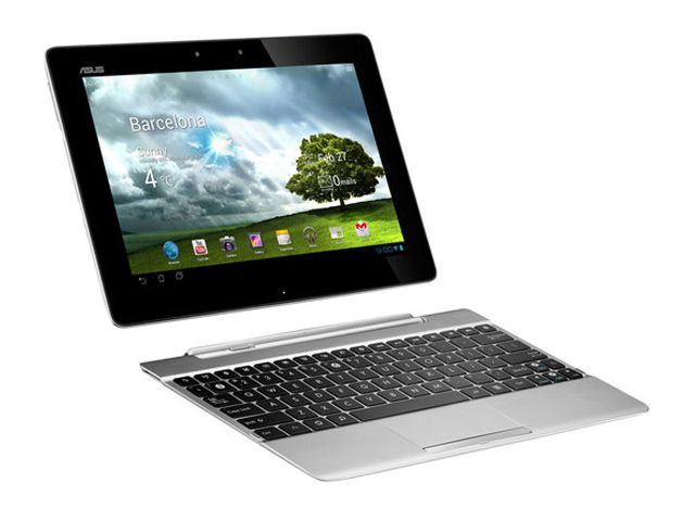 Asus Transformer Pad 300 white stock 640